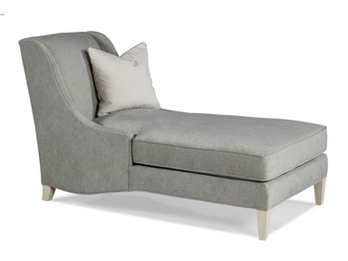 Hickory White Armless Chaise 4613-02