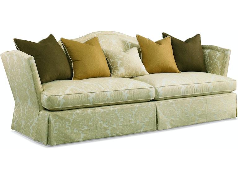 Admirable Hickory White Living Room Sofa 4698 05 Louis Shanks Machost Co Dining Chair Design Ideas Machostcouk