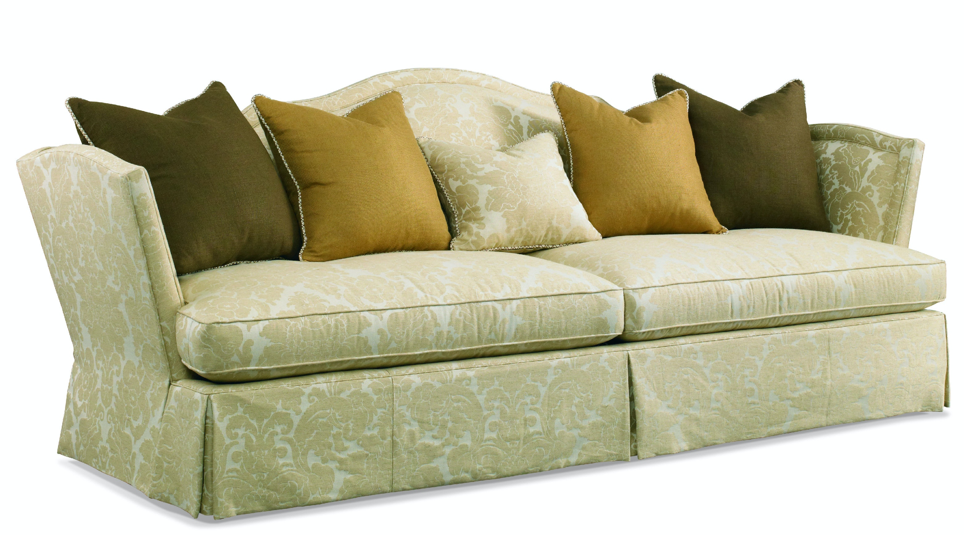 Hickory White Living Room Sofa 4698 05 At Louis Shanks