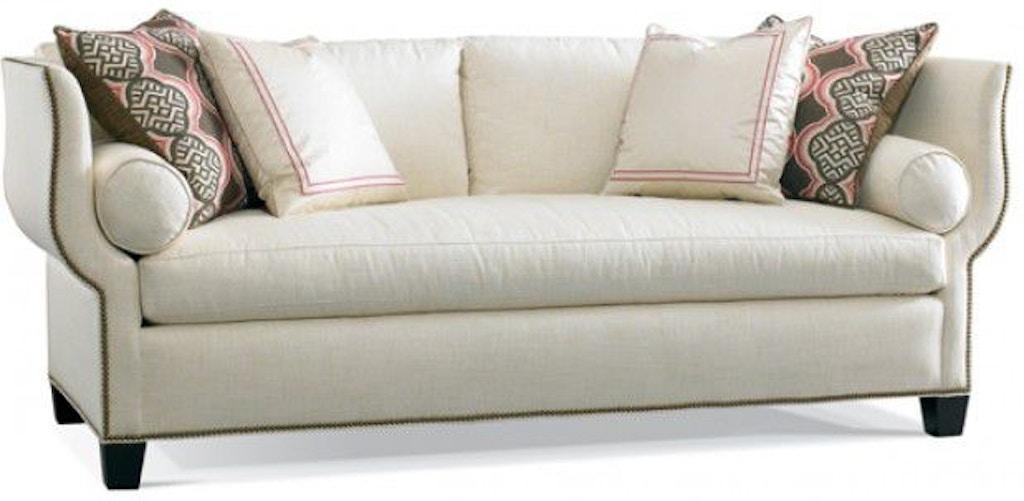Hickory White Living Room Sofa 4871 05 Louis Shanks