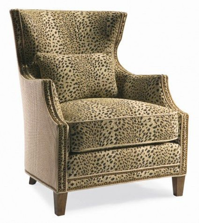 Living Room Furniture Houston Tx: Hickory White Living Room Chair 4883-01