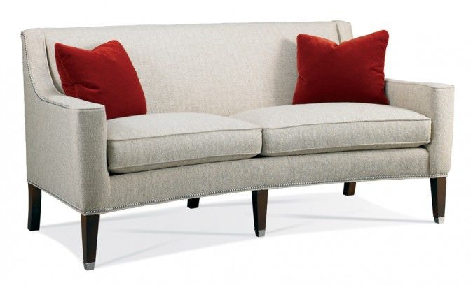Hickory White Greek Key Sofa 4902 05