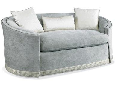 Hickory White Living Room Settee 5106 04 Hickory