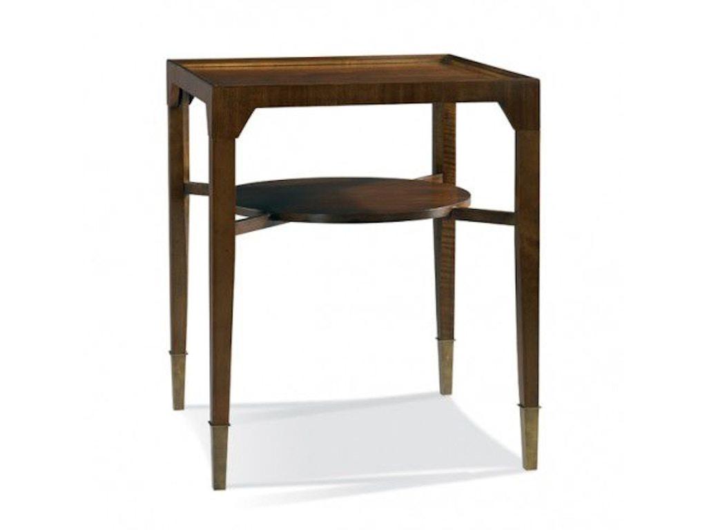 Hickory White Living Room Side Table 533 23 Shofer 39 S Baltimore Md