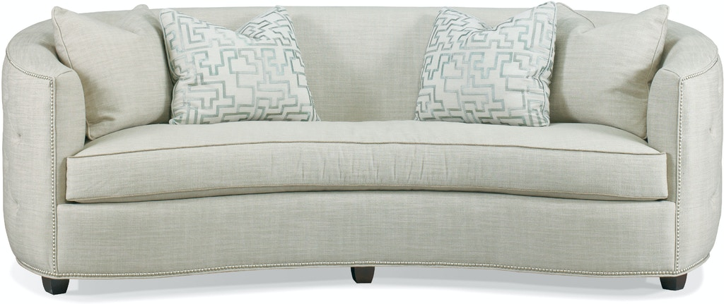 Pleasant Hickory White Living Room Sofa 5504 05 Saxon Clark Machost Co Dining Chair Design Ideas Machostcouk