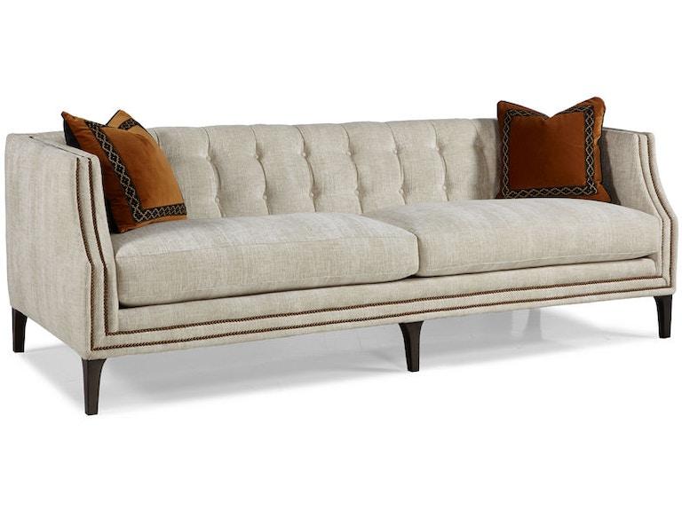 Miraculous Hickory White Living Room Wales Sofa 6000 05 Von Hemert Machost Co Dining Chair Design Ideas Machostcouk