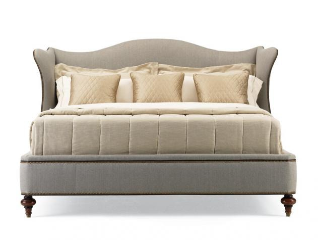 Hickory White Bedroom Queen Upholstered Bed 735 11