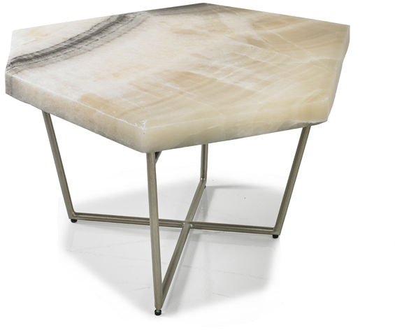 Hickory White Living Room Dulce Medium Cocktail Table 813