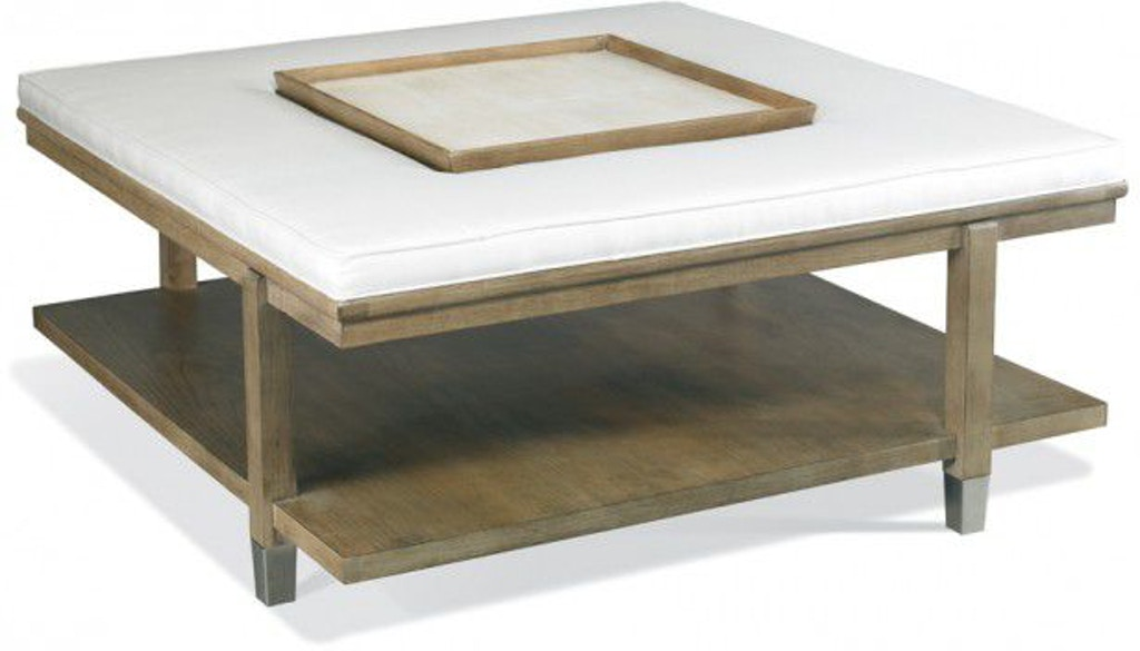 Superb Hickory White Living Room Westwood Cocktail Ottoman With Cjindustries Chair Design For Home Cjindustriesco