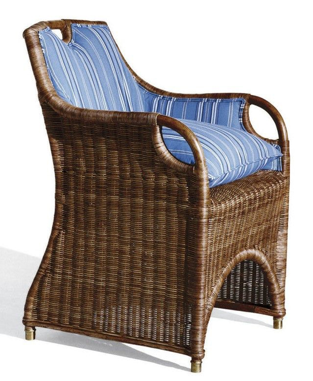 Ralph Lauren Dining Room Jamaica Wicker Dining Chair Frame Only 052