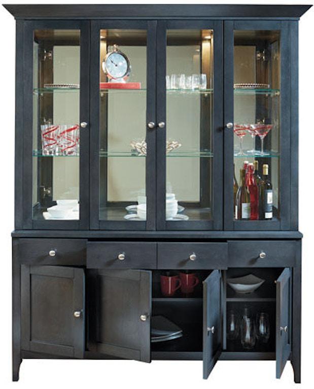 Bermex Dining Room Hutch Buffet Hb 116249 0m 0 0000 00n 00