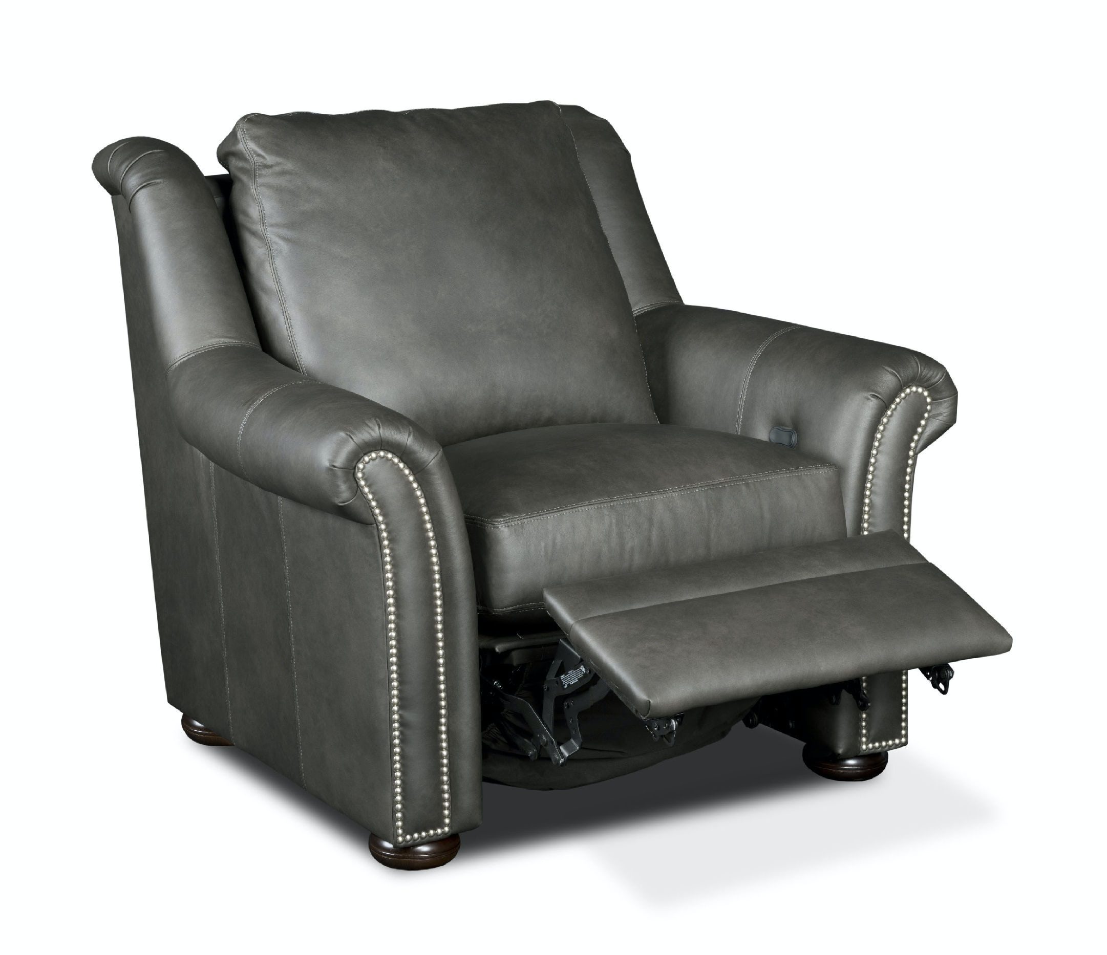 Bradington-Young Leather Power Reclining Chair 916-35  sc 1 st  Simonu0027s Furniture : leather power recliner chair - islam-shia.org