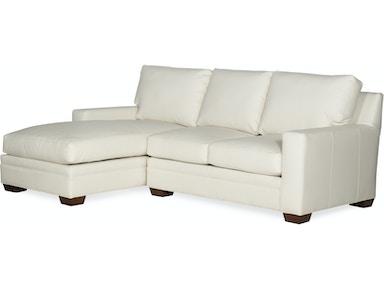 Bradington Young Living Room Hanley Stationary Large Sofa