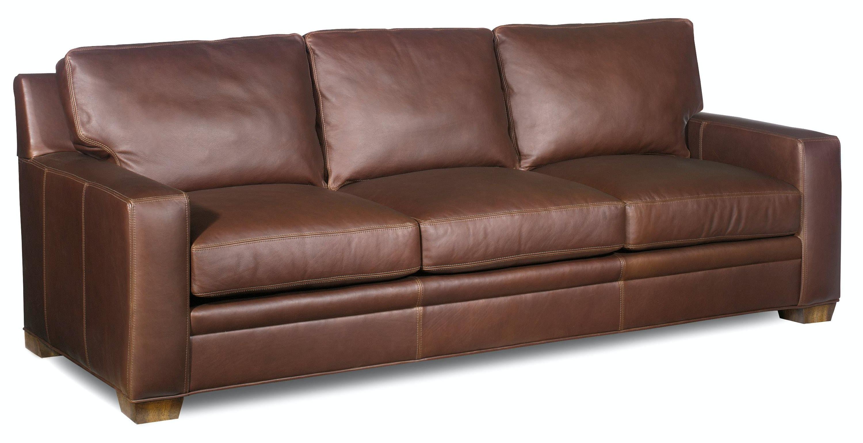 Bradington Young Living Room Hanley Stationary Large Sofa 8 Way Tie