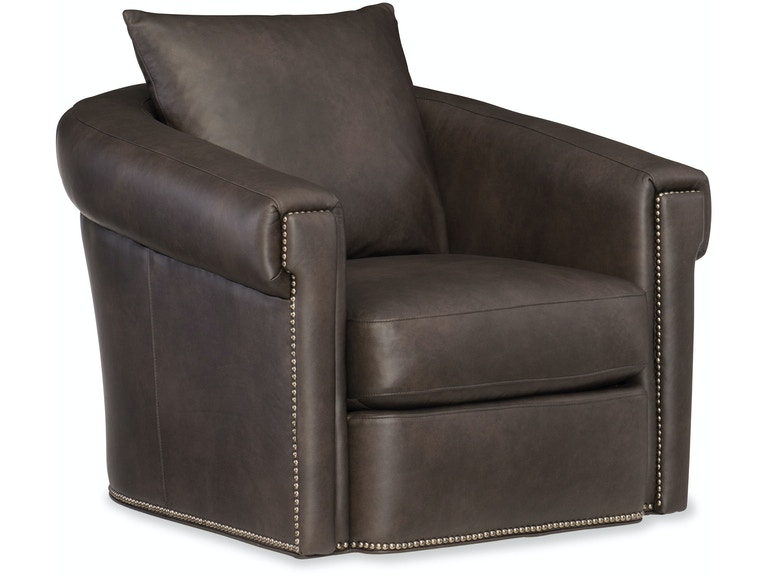 Bradington-Young Living Room Andre Swivel Glider Chair 301-25SG ...
