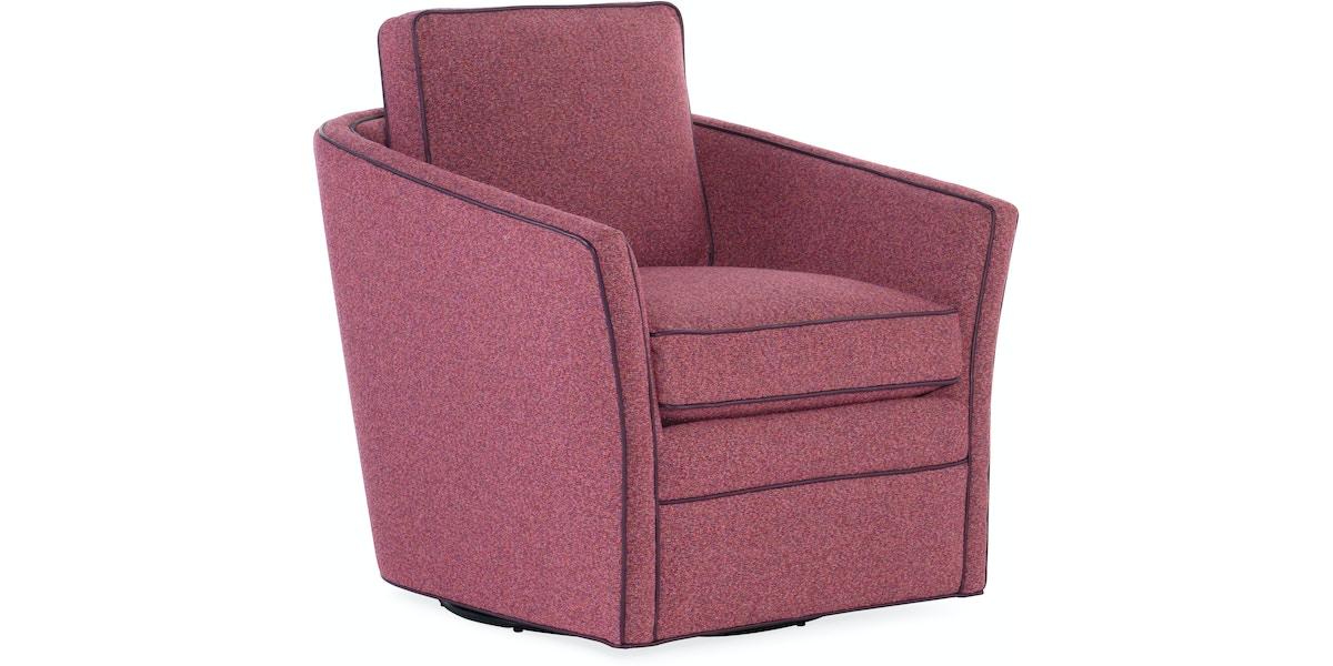 Bradington Young Living Room Blair Swivel Tub Chair 302 25sw Bradington Young Hickory Nc