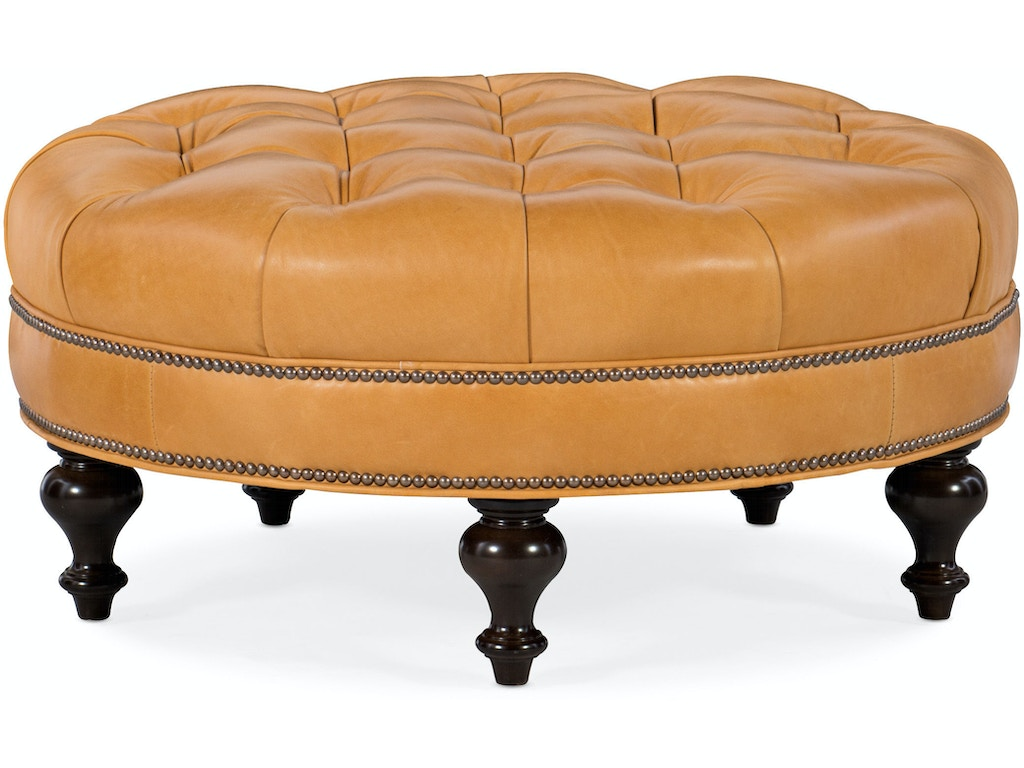 Well Rounded Tufted Round Ottoman
