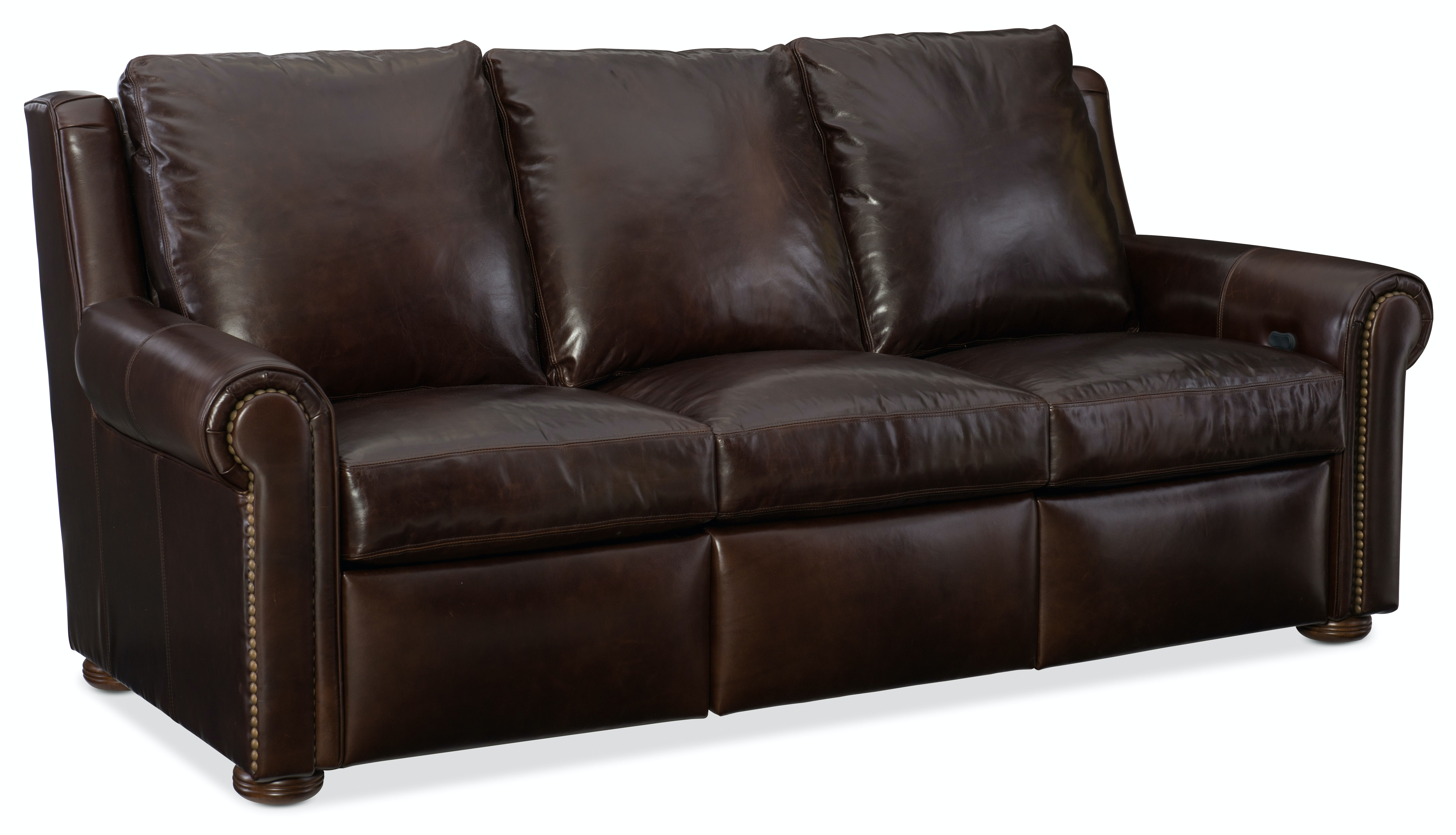 Bradington Young Living Room Whitaker Sofa Full Recline At Both