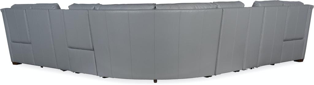 bradington young furniture 960 imagine sectional living room