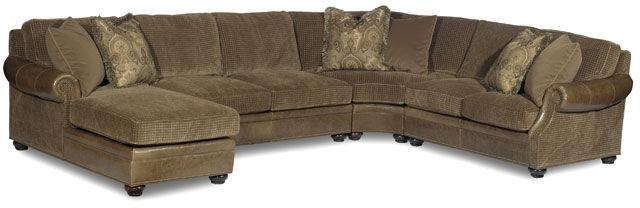 Bradington Young Living Room Sectionals 220 Warner Sectional  ~ Sectional Sofa Raleigh Nc