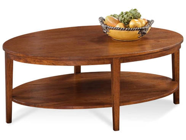 Braxton Culler Living Room Oval Cocktail Table 1510 023 Bacons Furniture Port Charlotte Fl