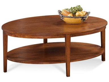 Braxton Culler  Oval Cocktail Table 1510-023