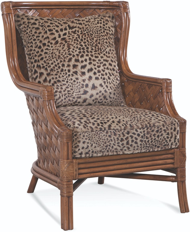 Braxton Culler 1921 007 Living Room Abella Wicker Wing Chair