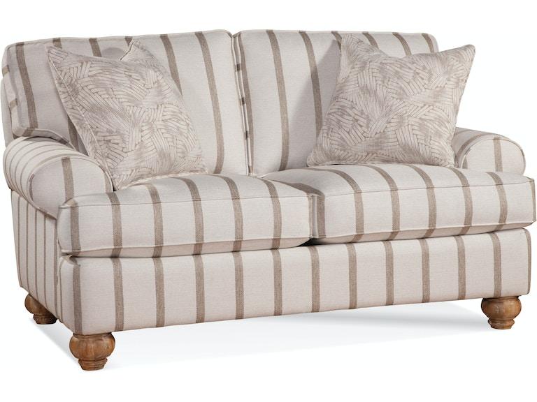Braxton culler living room cimarron loveseat 2930 019 - Living room furniture fort myers fl ...