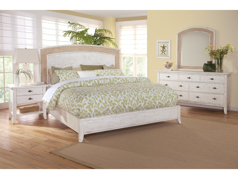 Braxton Culler Fairwinds Arched Seagrass Bedroom Set 2932-BED-SET1 ...