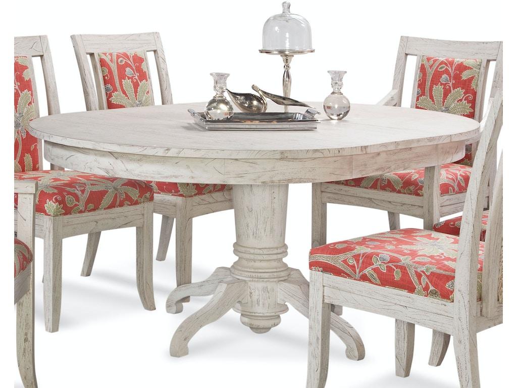Fantastic Braxton Culler Dining Room Fairwinds Round Oval Pedestal Interior Design Ideas Clesiryabchikinfo