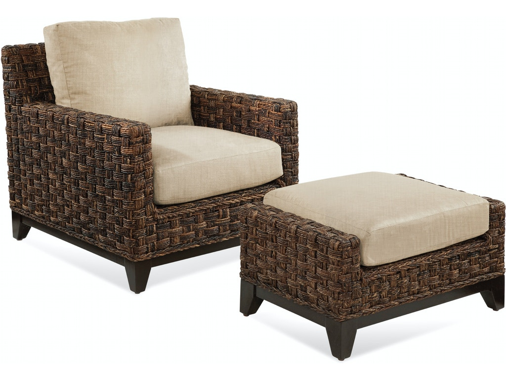 Braxton culler living room ottoman 2960 009 hickory for Living room ottoman