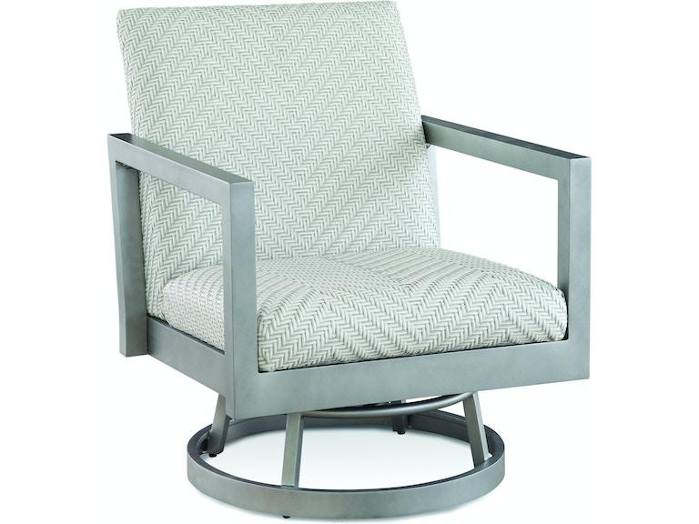 Braxton Culler Outdoor Patio Larissa Swivel Chair 407 005