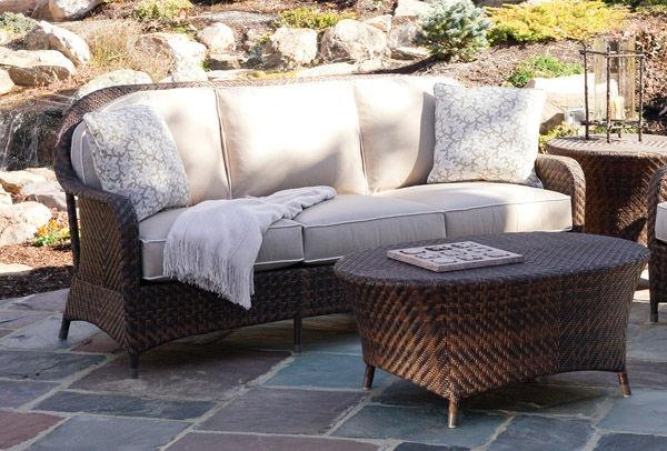 Braxton Culler Outdoor Patio Sofa 410 011 Seaside