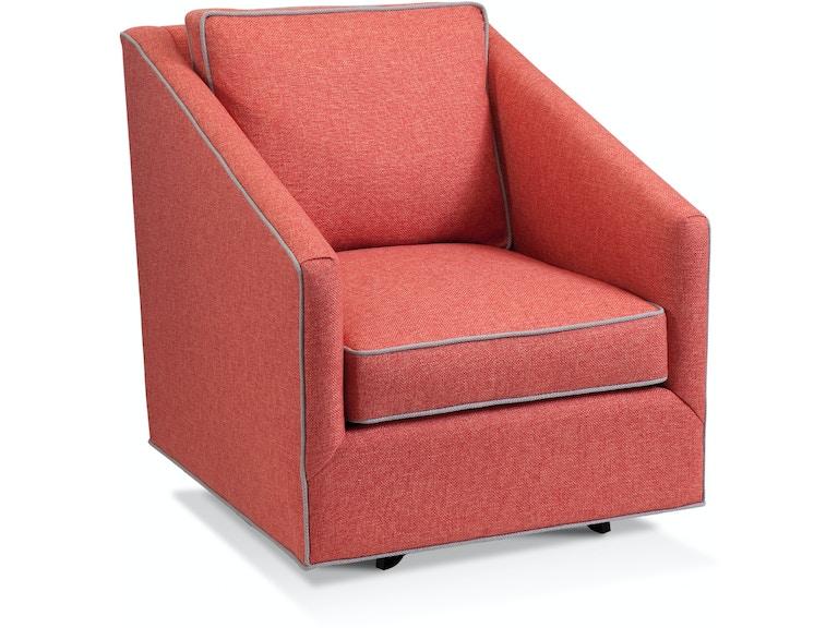 Braxton Culler Living Room Harrison Swivel Chair 5008 005
