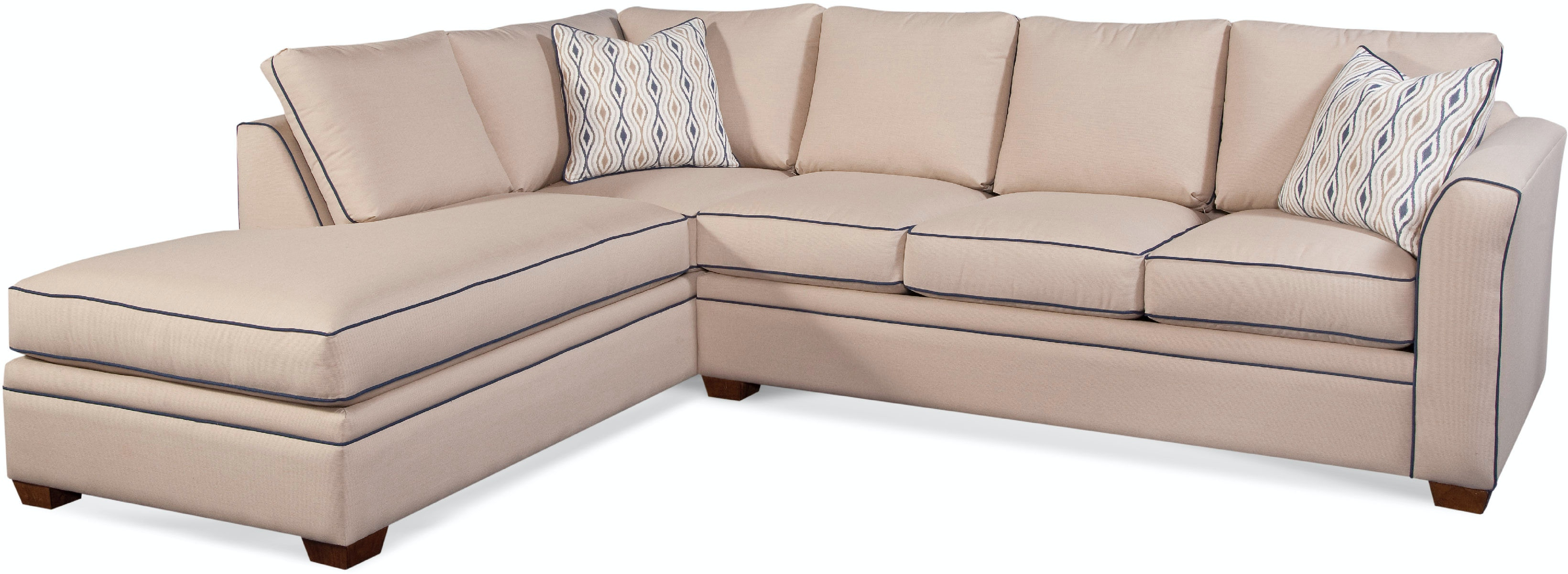Braxton Culler Living Room 560 BUMPER SECTIONAL Bacons