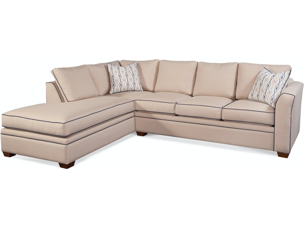 Braxton Culler Living Room 560 Bumper Sectional Bacons Furniture Port Charlotte Fl