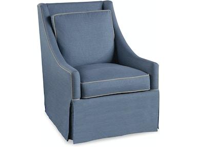 Braxton Culler Living Room Osborne Swivel Chair 5602 005