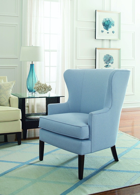 Braxton Culler Living Room Tredwell Wing Chair 5732 007