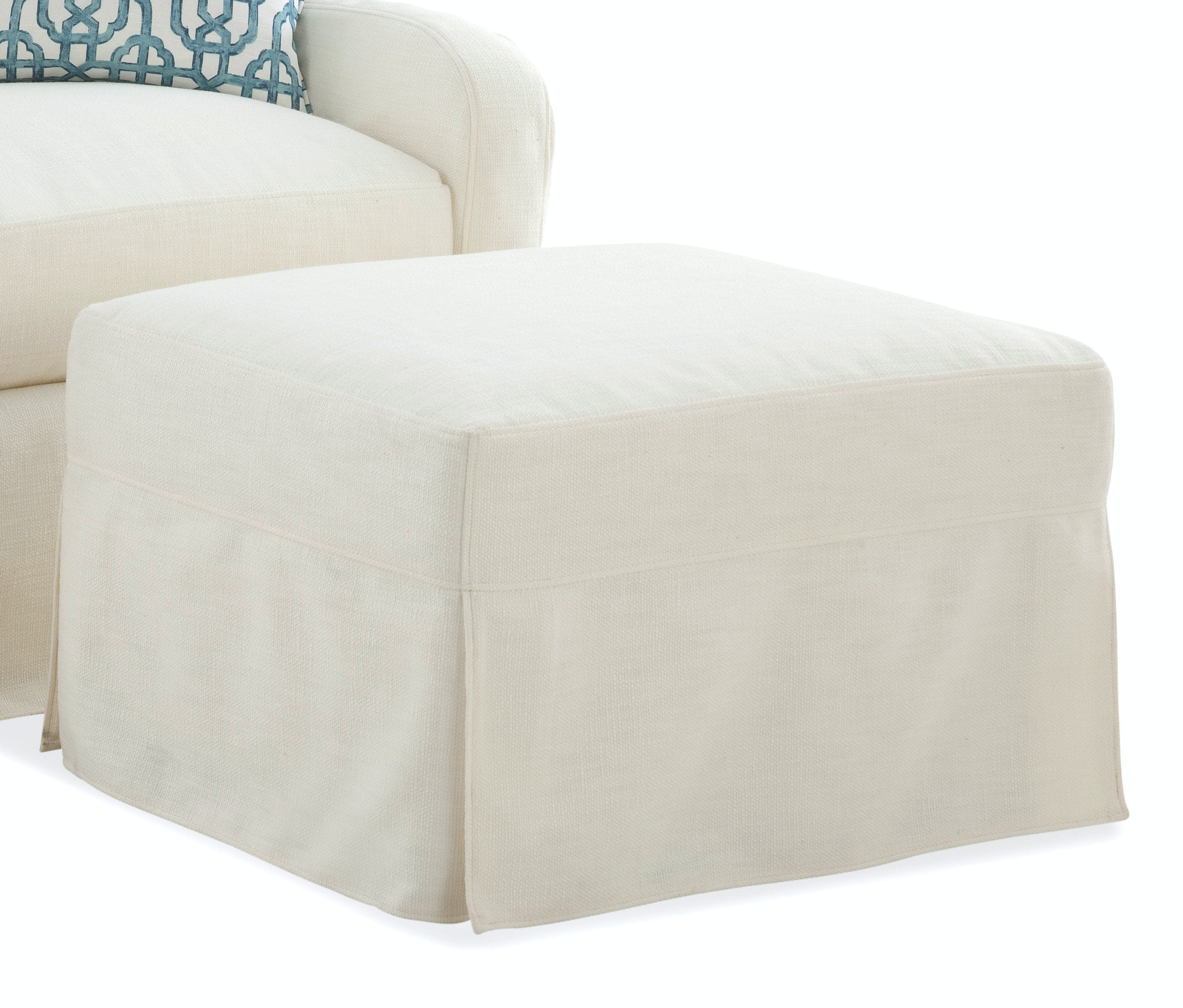 Braxton Culler Living Room Halsey Slipcovered Chair And