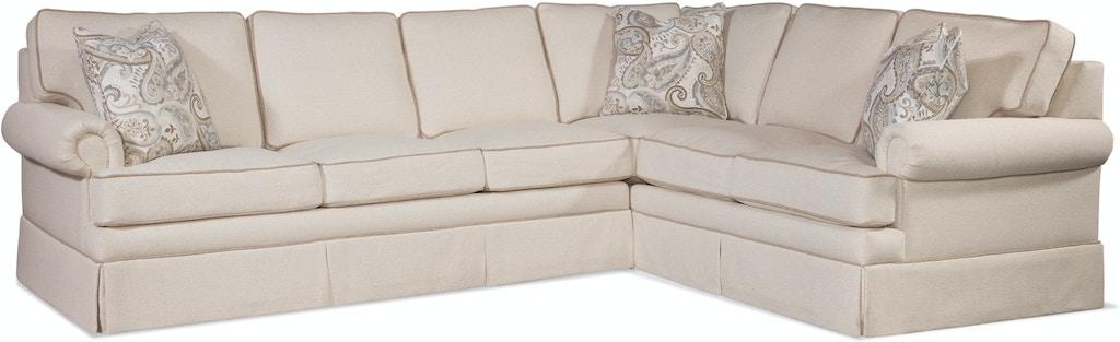 Braxton Culler Living Room Bradbury Two Piece Sectional