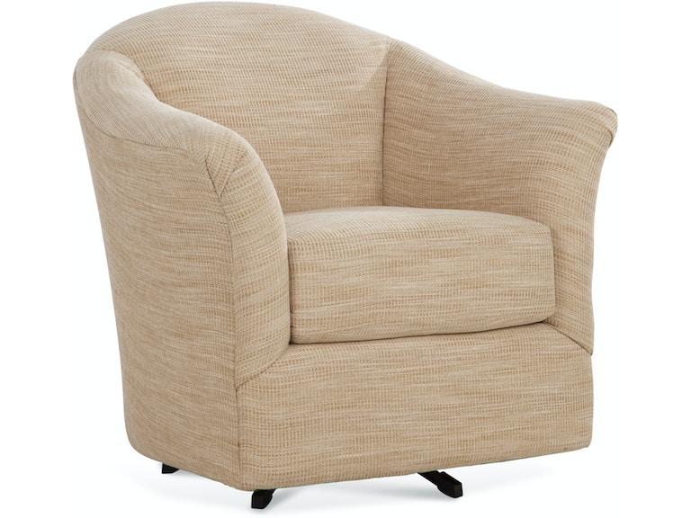 Braxton Culler Living Room Weston Swivel Chair 635 005