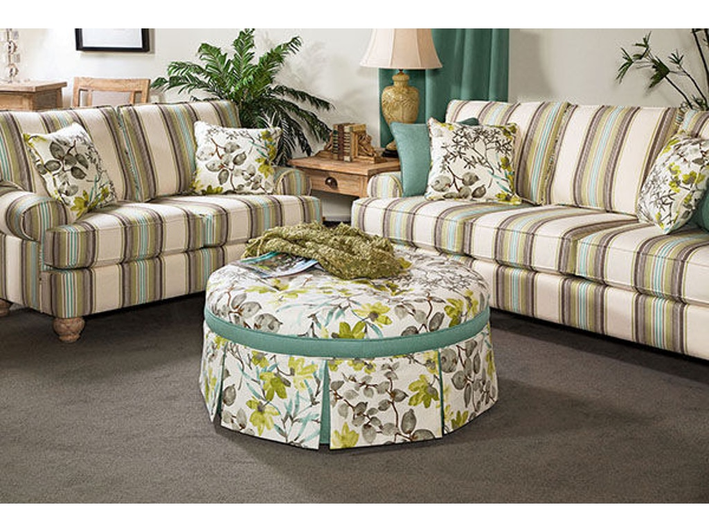 Braxton culler living room large ottoman contrast border 644 009cb kalin home furnishings Home design furniture ormond beach fl