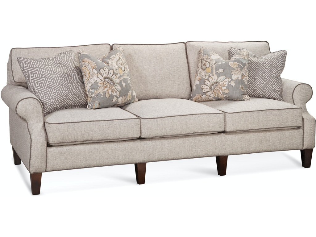 Braxton culler living room sofa 714 011 quality for Quality furniture
