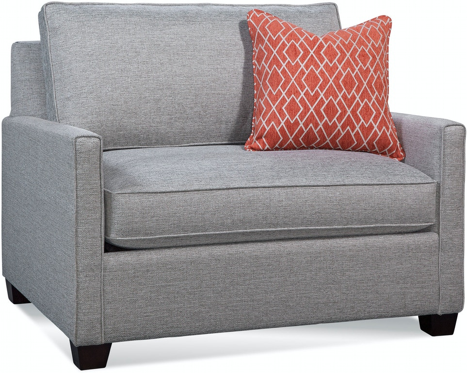 Braxton Culler Living Room Nicklaus Twin Sleeper Chair 724 ...