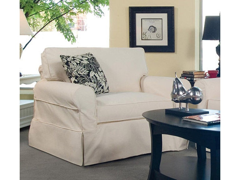 Braxton Culler Living Room Bedford Chair With Slipcover