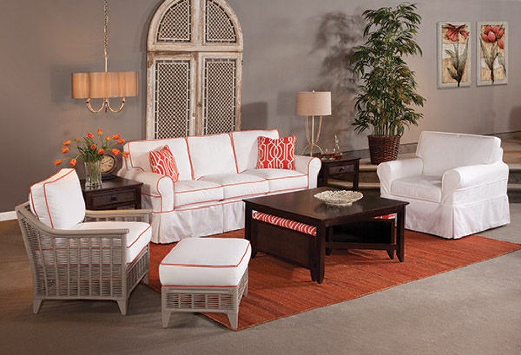 Braxton Culler Living Room Bedford Sofa With Slipcover 728