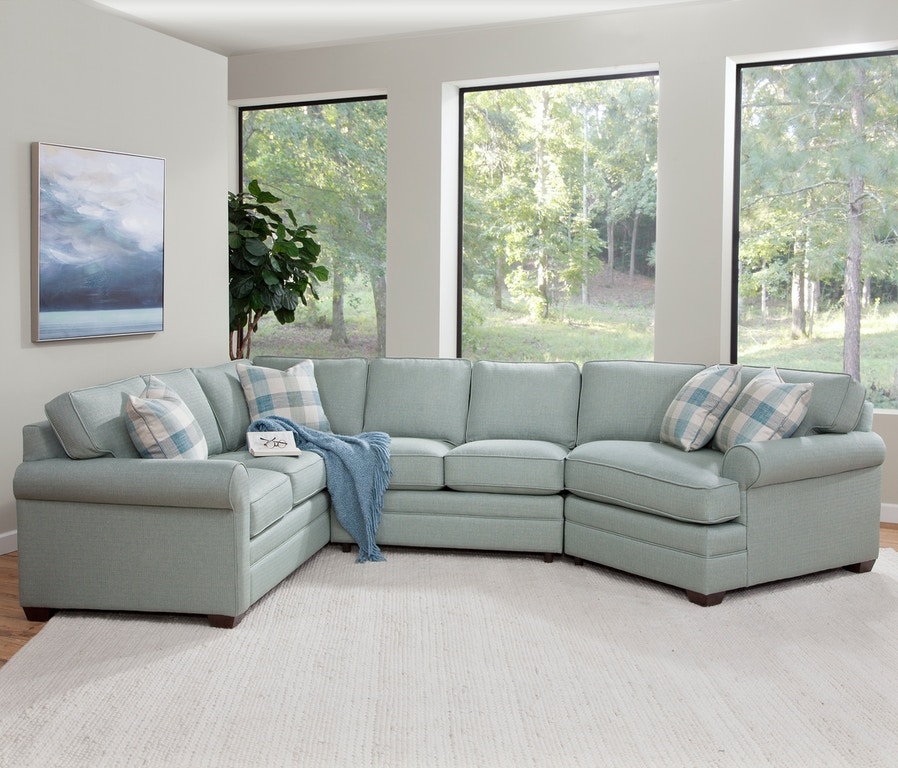 Outdoor Patio Furniture East Brunswick Nj: Braxton Culler Living Room Bedford Three-Piece Cuddle