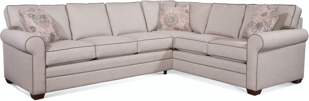 Braxton Culler 728 2pc Sec4 Living Room Bedford Two Piece