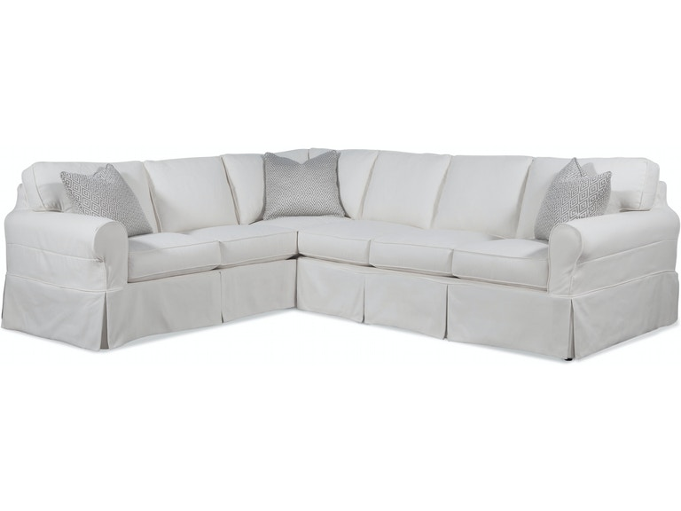Braxton Culler Living Room Bedford Two Piece Slipcover