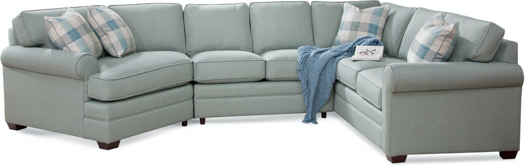 Braxton Culler Living Room Bedford Three-Piece Cuddle ...